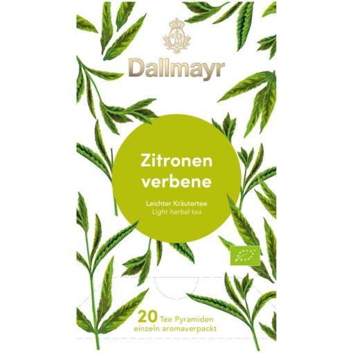 Dallmayr Citromverbéna gyógynövény tea 20db (teapiramis)