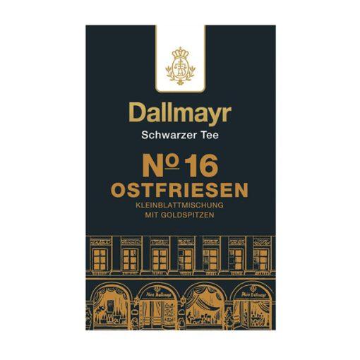 Dallmayr Nr.16 Ostfriesen kislevél tea keverék 100g (szálas)