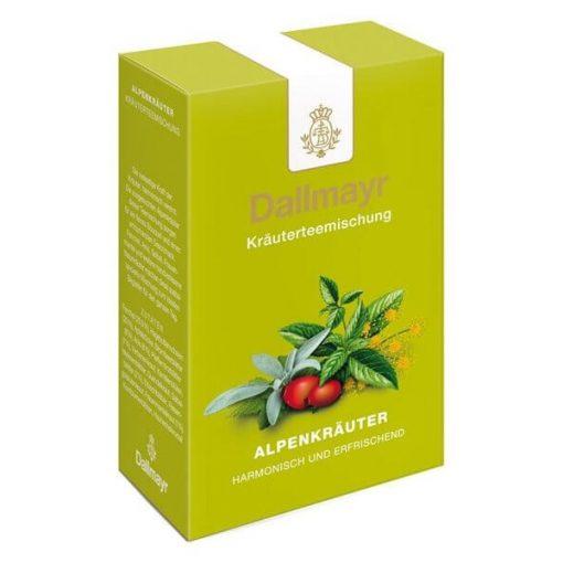 Dallmayr Alpesi gyógynövény tea 50g (szálas)