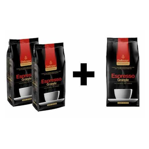 2+1 Dallmayr Espresso Grande 3 x 1000 g szemes kávé