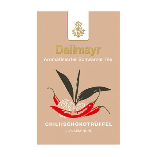 Dallmayr Chili-Trüffelcsoki fekete tea 100g (szálas)