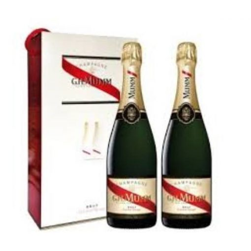 Champagne Mumm Cordor Rouge Duo Pack 2 x 0,75 L
