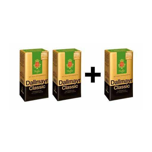 2 + 1 Dallmayr Classic 500 g őrölt kávé