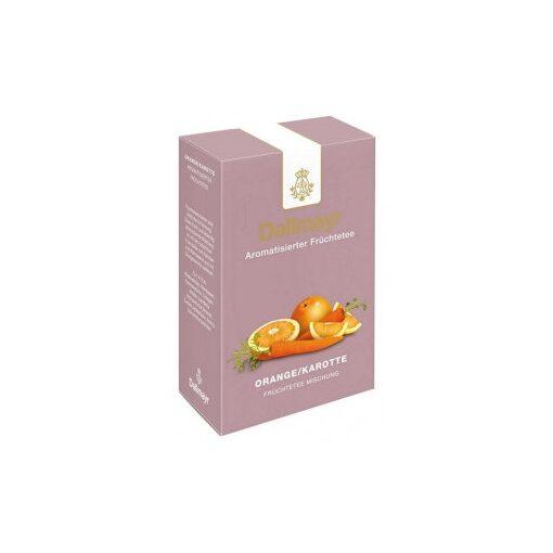 Dallmayr Narancs-Sárgarépa gyümölcs tea 100g (szálas)