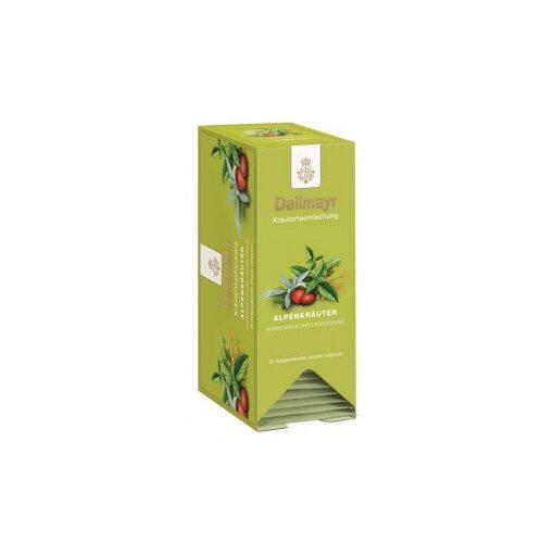 Dallmayr Alpesi gyógynövény tea 25db (filteres)