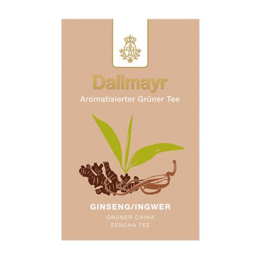 Dallmayr Ginzeng-Gyömbér zöld tea 100g (szálas)