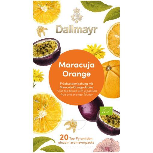 Dallmayr Maracuja-Narancs gyümölcs tea 20db (teapiramis)