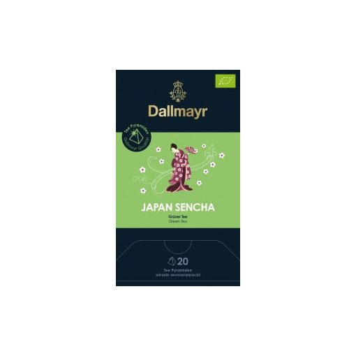 Dallmayr Japán Sencha zöld tea 20db (teapiramis)
