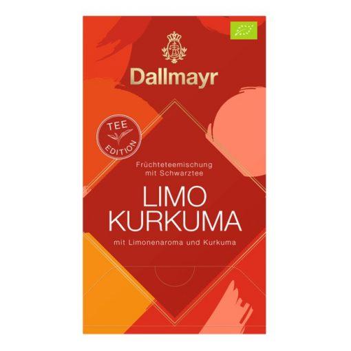 Dallmayr Limo Kurkuma frissítő fekete tea 20 db (teapiramis)