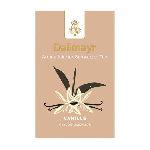 Dallmayr Vanília fekete tea 100g (szálas)