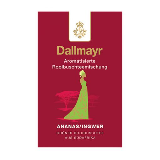 Dallmayr Ananász-Gyömbér Rooibos tea 100g (szálas)