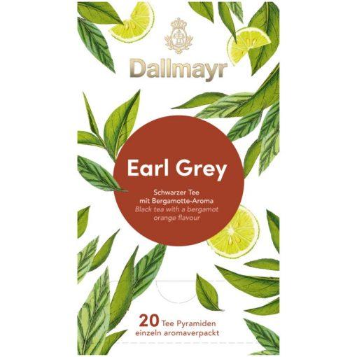 Dallmayr Earl Grey fekete tea 20db (teapiramis)