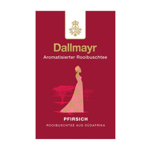 Dallmayr Őszibarack Rooibos tea 100g (szálas)