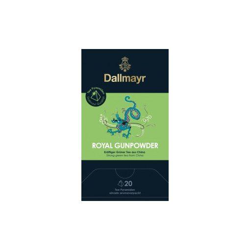 Dallmayr Royal Gunpowder zöld tea 20db (teapiramis)