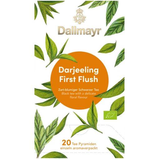 Dallmayr Darjeeling First Flush fekete tea 20db (teapiramis)