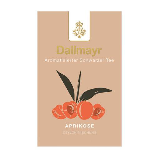 Dallmayr Sárgabarack fekete tea 100g (szálas)
