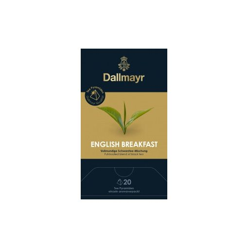 Dallmayr English Breakfast fekete tea 20db (teapiramis)