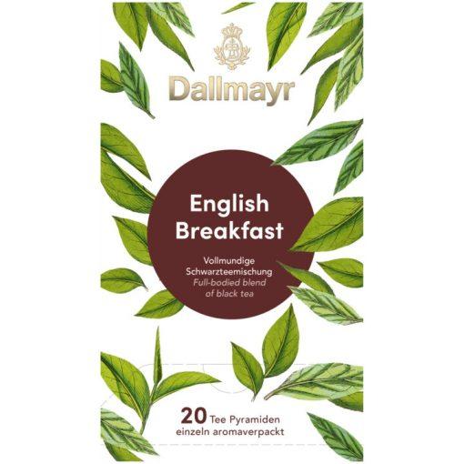 Dallmayr English Breakfast fekete tea 20db (teapiramis)