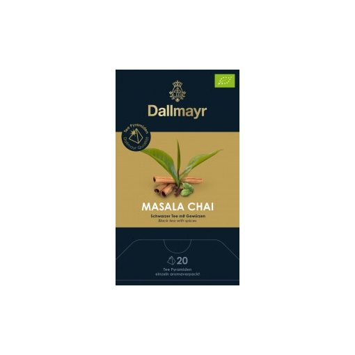 Dallmayr Masala Chai fekete tea 20db (teapiramis)