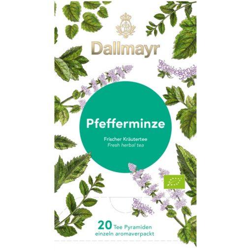 Dallmayr Borsmenta gyógynövény tea 20db (teapiramis)
