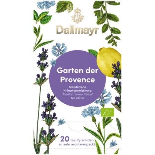 Dallmayr Provence kertje gyógynövény tea 20db (teapiramis)