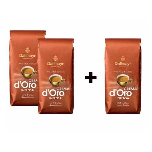 2+1 Dallmayr Crema dOro Intensa 3x1000 g szemes kávé