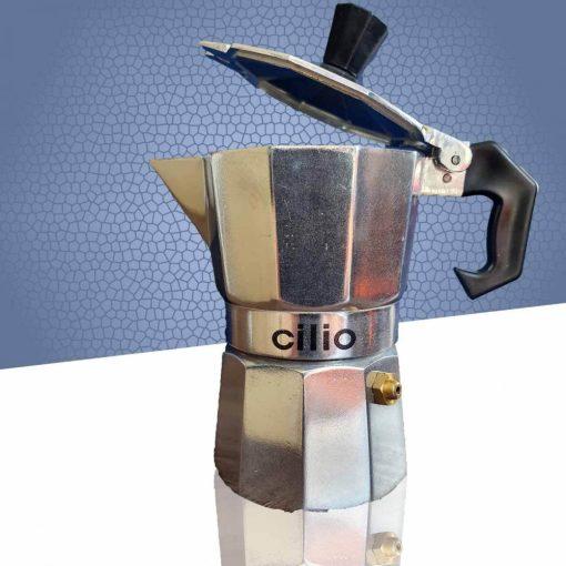 Cilio Egyszemélyes Kotyogó kávéfőző