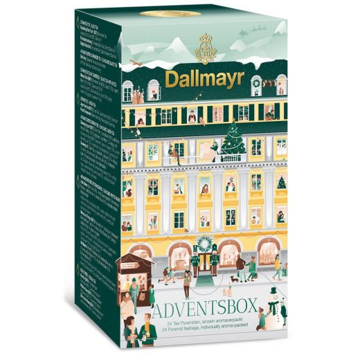 Dallmayr Adventi teapiramis válogatás box (24 db)