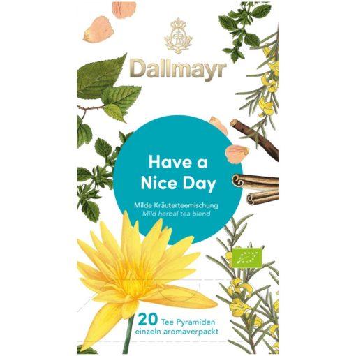 Dallmayr Szép napot wellness tea 20db (teapiramis)