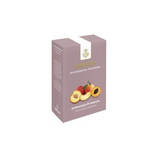 Dallmayr Sárgabarack-Őszibarack gyümölcs tea 100g (szálas)