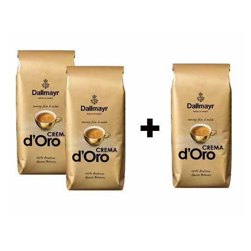 2+1 Dallmayr Crema dOro 3x1000 g szemes kávé