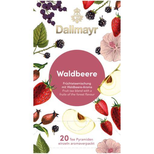 Dallmayr Erdei gyümölcs tea 20 db (teapiramis)