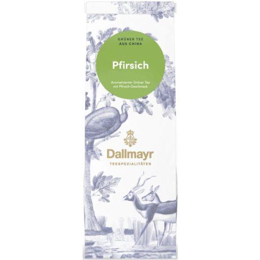 Dallmayr Őszibarack zöld tea 100g (szálas)
