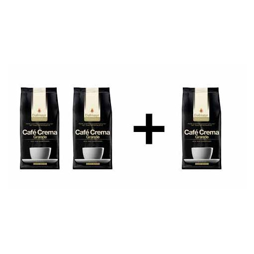 2+1 Dallmayr Crema Grande 3x1000 g szemes kávé