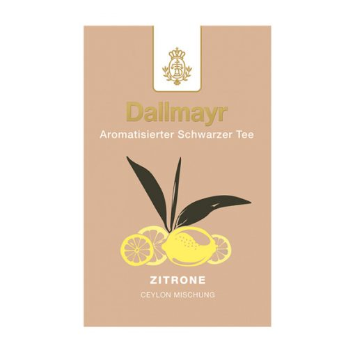 Dallmayr Citrom fekete tea 100g (szálas)