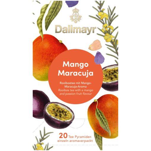 Dallmayr Mango-Maracuja Rooibos tea 20db (teapiramis)