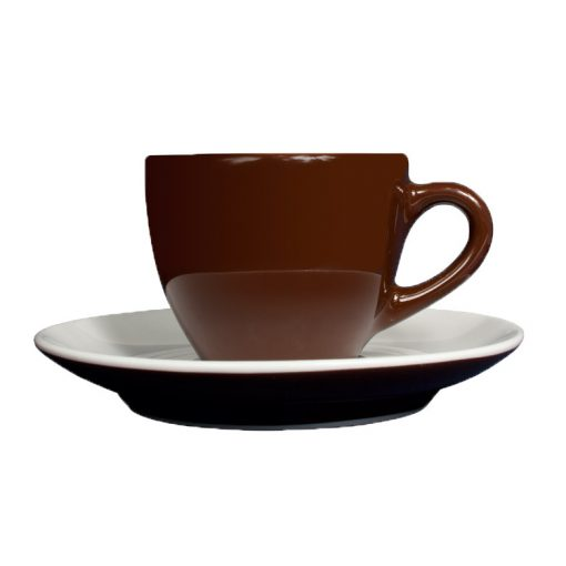 Dallmayr Espresso csésze + alj - barna