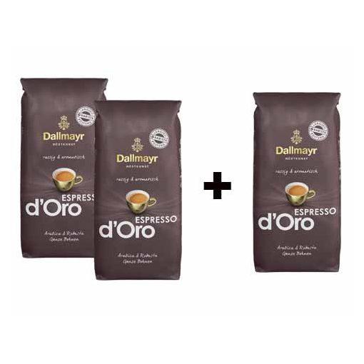 2+1 Dallmayr Espresso dOro 3x1000 g szemes kávé