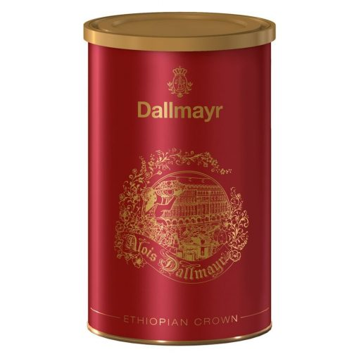 Dallmayr Ethiopian Crown 250 g őrölt kávé fémdobozban