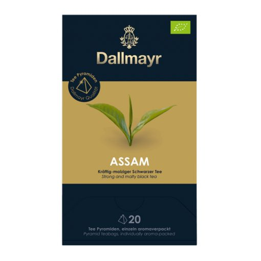 Dallmayr Assam fekete tea 20db (teapiramis)