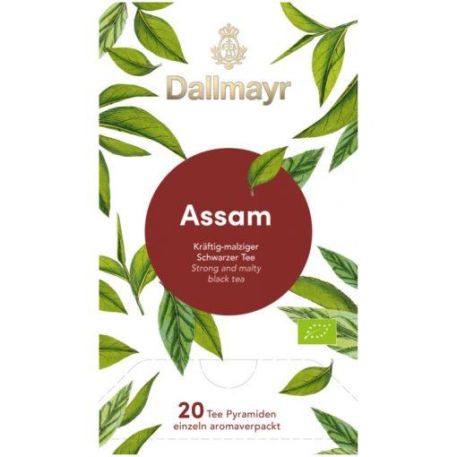 Dallmayr Assam fekete tea 20db (teapiramis)
