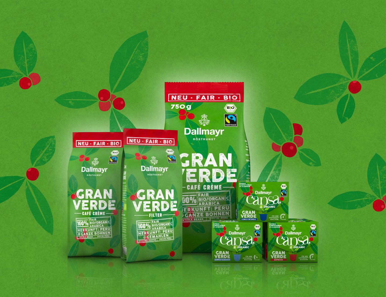 Dallmayr Gran Verde Bio kávék